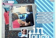 CTMH--Proplayer / By Tresa Black CTMH supplies used:  (Click to view and shop)  ProPlayer Paper Pack  Artbooking Cricut Collection  Dimensional Elements Monograms  Baker's Twine