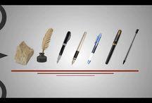 Evolution of the pen