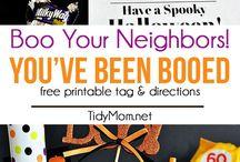 Booing neighbors ideas