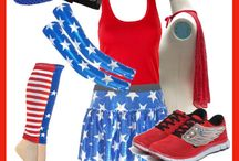 Fourth of July Running Gear / Run like a firework