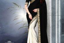 Designer Sarees / Latest party wear sarees collection