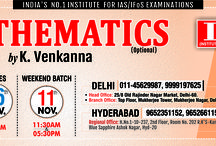 #Best #IAS #Coaching #UPSC / #CSE / #IAS / #IFoS #Mathematics(Optional) #Regular & #Weekend  #Coaching Begins in #Delhi and #Hyderabad