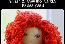 Doll Making / Ideas and supplies for doll making / by Jennifer Wheatley-Wolf-Art Gifts Etc