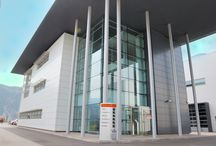 Centro Polifunzionale provincia trento / Fornitura e posa di facciate continue, serramenti in alluminio, vetrate