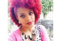 Colour is life / Nice colourful hair.