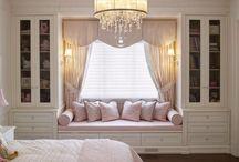 Girl's Bedrooms / Inspiration for Girl's Bedrooms Design