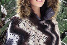 knit free - shawls, cowls, shrugs