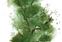 Trees paints