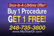 Star Plastic Surgery TV Commercials