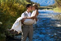 River Wedding in Montana