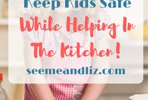 Cooking with children / Different ideas of how to cook with your children; recipes, tips & tricks.