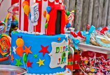 Carnival/Circus Cake / by Jay Churches