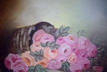 minha pintura em tela