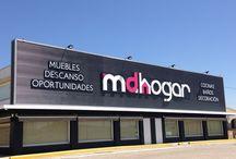 Mdhogar Montilla Fachada / Fachada de tienda Mdhogar Montilla