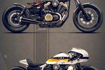 Motorcycles and cars / by derrick joyce