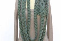шали шарфы...