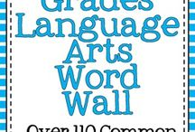 Literacy:  word wall / by Suzanne Davis