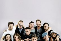Avengers/MARVEL❀ / fav pics of cast, from marvel movies. espiecially avengers *-*