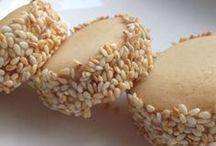 tahinli susamli kurabiye