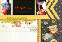 Scrapbook Layouts - Halloween / by Laura Laforest