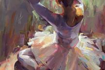 painting ballet