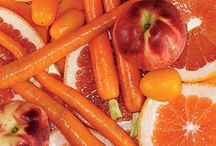 Color Your Plate: Orange / Orange food recipes and education.