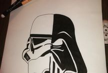 Stormstrooper Darkvador dessin / Dessin