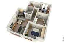 Interior Design / visualizations of interiors