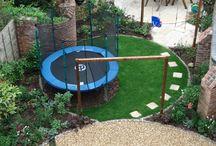 kruhové trávníky-řešení zahrady