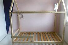 łóżko dom