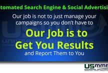 Automated Search Engine And Social Advertising USMMP / Learn how to increase your leads up to 50% or even higher for you ads on Google, Yahoo, Bing, Facebook, Twitter, Instagram and Pinterest.