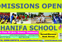 Admissions Open @ Hanifa School for 2017-18 / Hanifa school a CBSE affiliated English Medium School and having Arts, Science and Commerce streams. came into effect in 2005 Our school campus is beautiful and has all the amenities.   Hanifa School is considered as one of the Best CBSE  Schools in Gujarat.