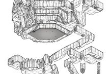 Dungeon Map Inspirations