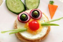 weil das Auge mit isst