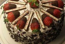 Kuchen ohne Gelantiene