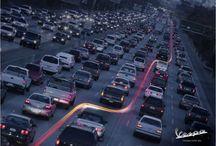 Traffic / zácpy + doprava všeho druhu