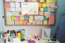 office pin board
