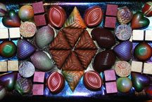 Chocolate Evolution / A visual gallop through my chocolate creations of the last 5 years.  For 35 years, I made truffles.  In 2009, I discovered tempering, molds & cocoa butter colors. There is no stopping me!