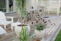 veranda/trädgård