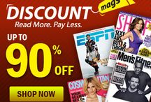 Magazines / All brands of Magazines coupons in US. / by dgnmw.com