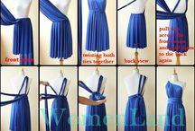 Vestidos envoltórios