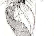 gianfranco ferre sketches