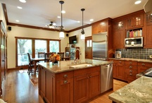 House & Home - K/D / Kitchen & dining ideas / by Sid-c