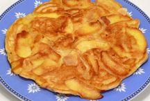 Panqueque de manzana