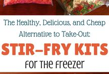 Freezers meals