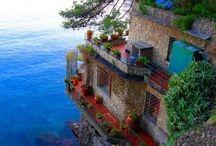 paisajes La Spezia,Liguria. Italia