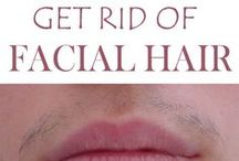 Facial hair remove