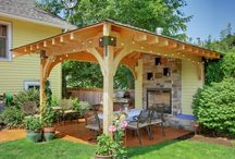 Outdoor Spaces / Ways to spruce up your own outdoors spaces. Great Ideas. Pick and choose from many. / by Angela Norton