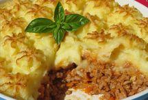 Pastel de patata y carne