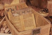 pages de livres création
